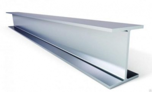 Двутавр алюминиевый 60x70x10x10